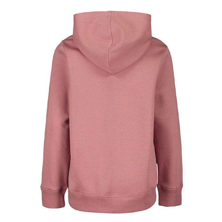 Young Original Printed Pullover Hooded Sweatshirt, Pink Dark DREAMS, hi-res image number null