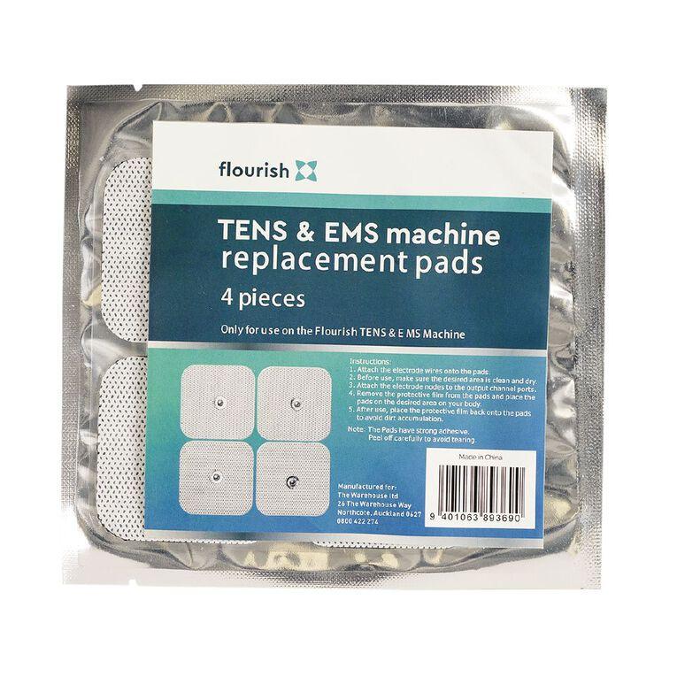 Flourish Ten Machine Replacement Pads 4pk, , hi-res