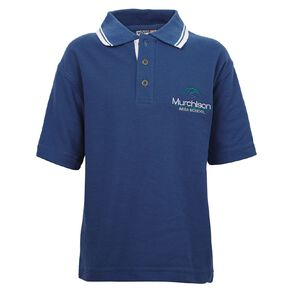 Schooltex Murchison Area Short Sleeve Polo with Embroidery