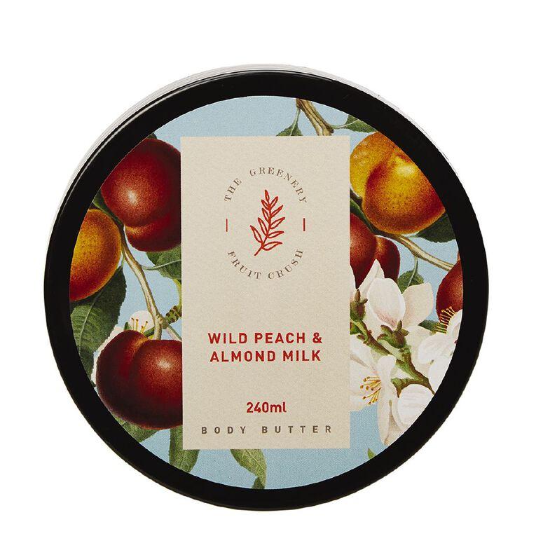Winter Fruit Wild Peach And Almond Milk Body Butter 200ml, , hi-res
