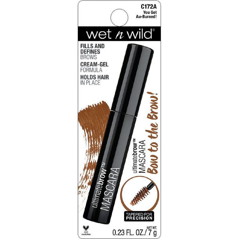 Wet n Wild Ultimate Brow Mascara You Got Au Burned, , hi-res