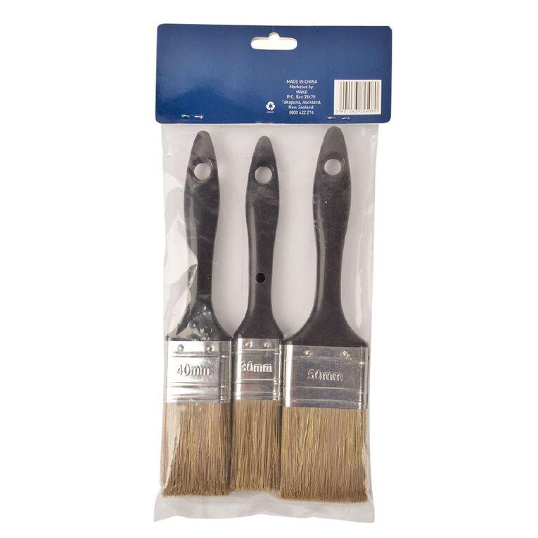 Mako Paint Brush Set 3 Piece, , hi-res