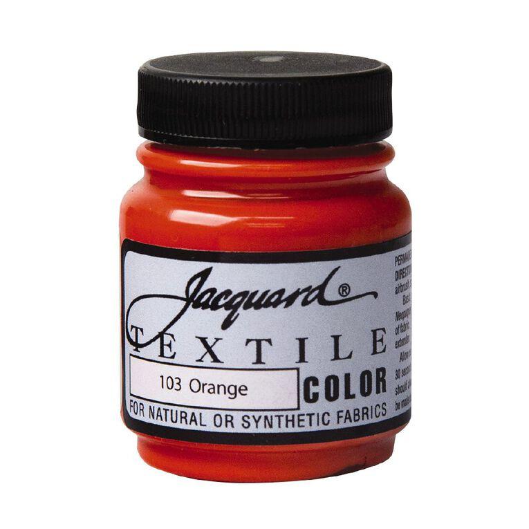 Jacquard Textile Colours 66.54ml Orange, , hi-res