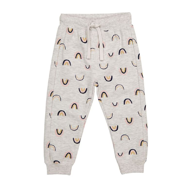 Young Original Toddler Printed Trackpants, Grey Light, hi-res