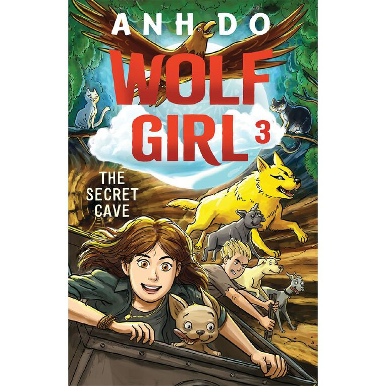 Wolf Girl #3 The Secret Cave by Anh Do, , hi-res