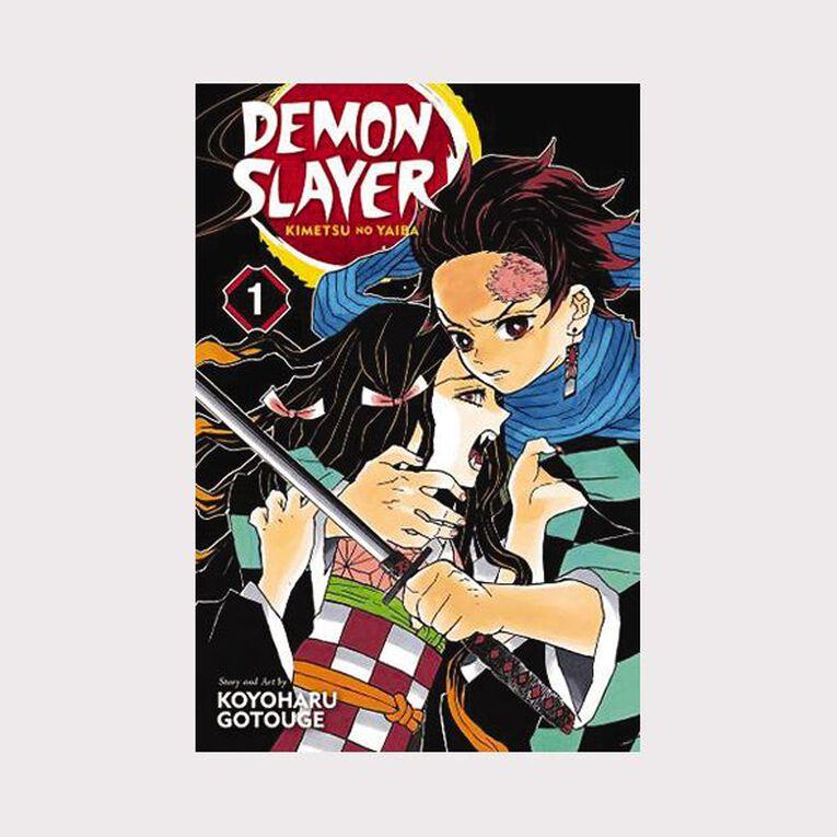 Demon Slayer: Kimetsu No Yaiba Vol #1 by Koyoharu Gotouge, , hi-res