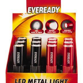 Eveready 3 LED Metal Light
