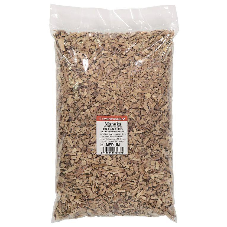 Woodchips Manuka BBQ Grade 1kg, , hi-res