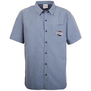 Schooltex Darfield High Boys' Short Sleeve Shirt with Embroidery