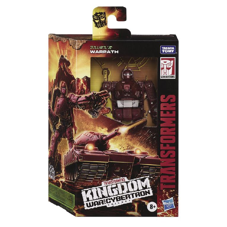 Transformers War for Cybertron Kingdom Deluxe Assorted, , hi-res
