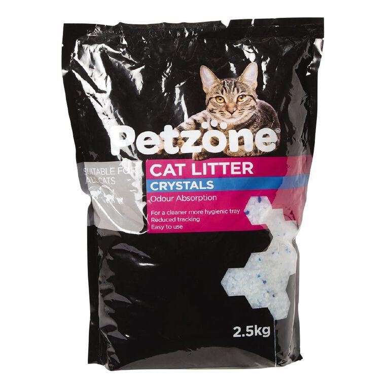 Petzone Cat Litter Crystals 2.5kg, , hi-res
