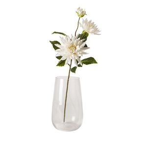 Living & Co Artificial Dahlia Spray 72cm Ivory