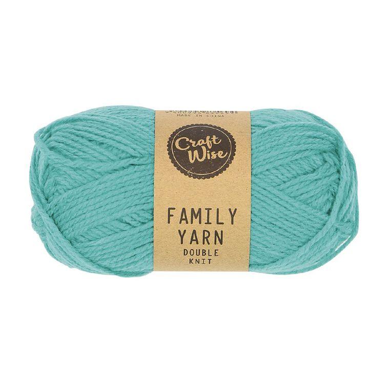 Uniti Yarn Family Double Knit Teal 50g, , hi-res