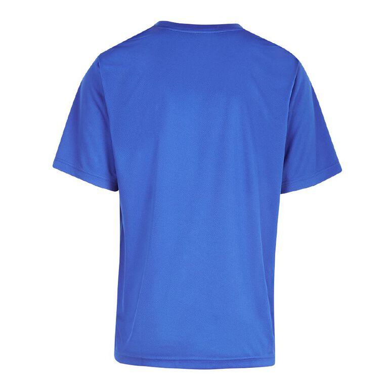 Active Intent Men's Print Tee, Blue Mid, hi-res