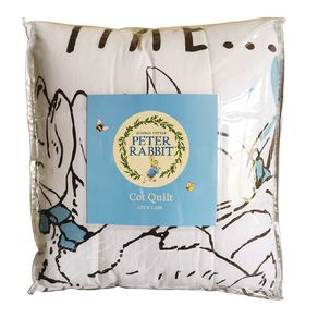 Peter Rabbit Cot Quilt