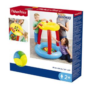 Fisher-Price Bestway Inflatable Ball Pit Animal Friends