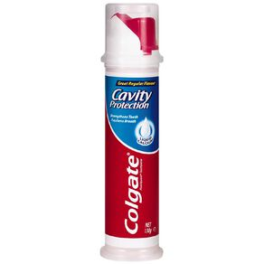 Colgate Great Regular Flavour Toothpaste Pump 130g