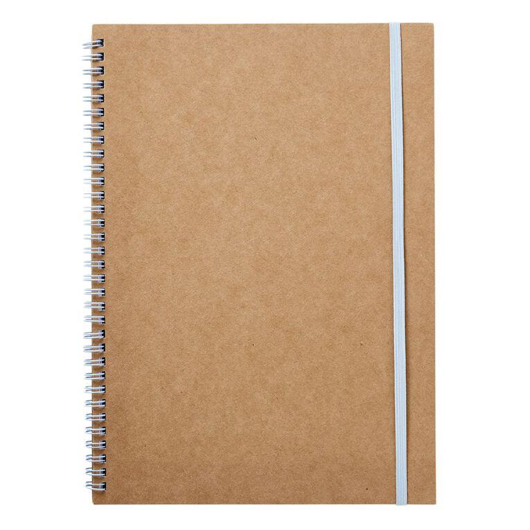Uniti Geo Notebook Softcover Natural A4, , hi-res