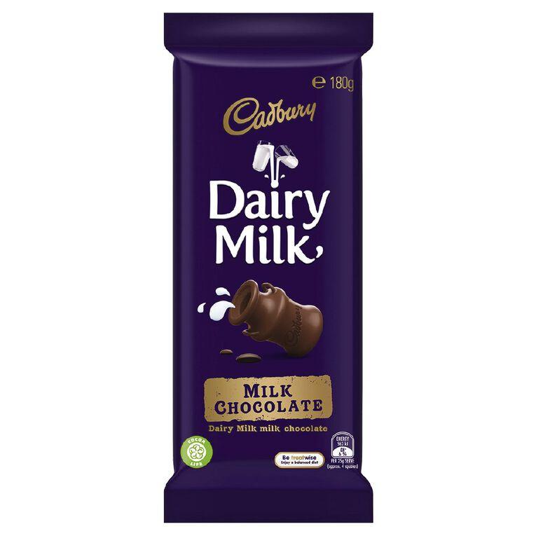 Cadbury Dairy Milk 180g, , hi-res