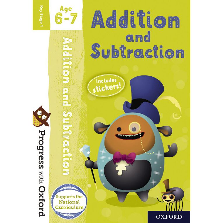 Addition and Subtraction Age 6-7 by Oxford University Press, , hi-res