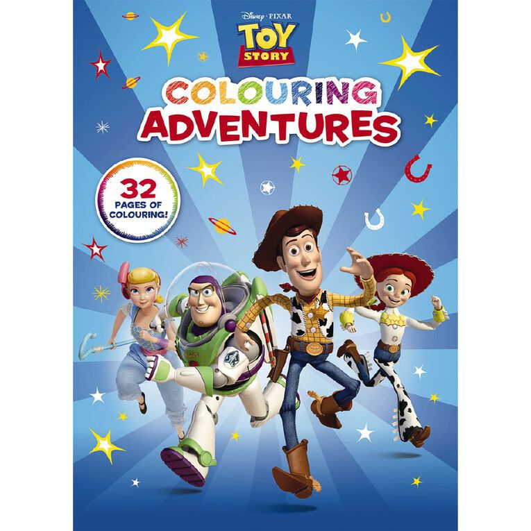Disney-Pixar: Toy Story Colouring Adventures, , hi-res