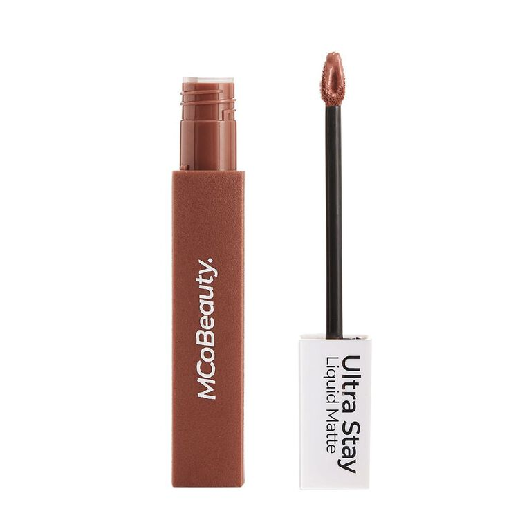 MCoBeauty Ultra Stay liquid Matte Lipstick Nude Brown, , hi-res
