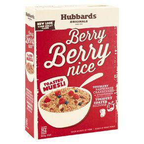 Hubbards Berry Berry Nice 600g