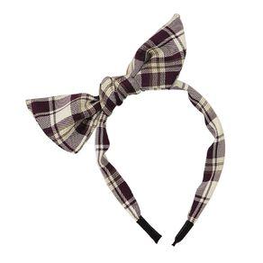 Bow Headband Purple