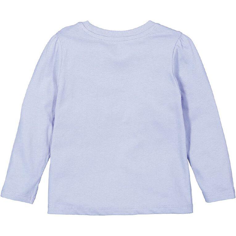 Young Original Toddler 2 Pack Long Sleeve Tees, Purple Mid, hi-res