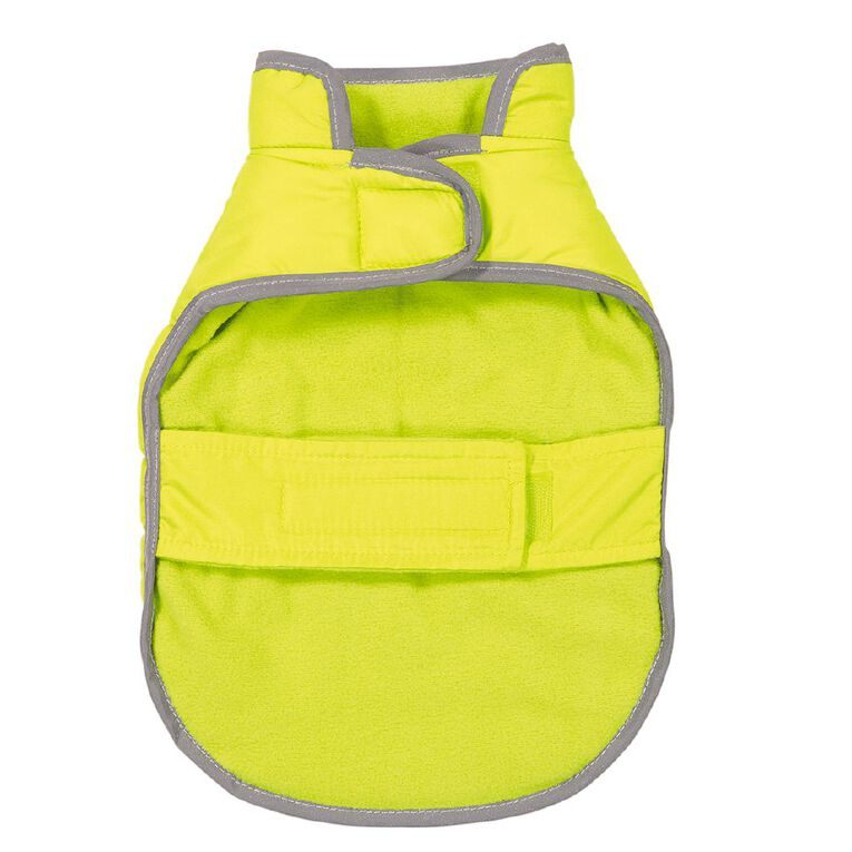 Simply Dog Lime Quilted Puffer Jacket S, , hi-res