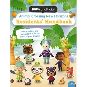 Animal Crossing New Horizons Residents Handbook by Claire Lister