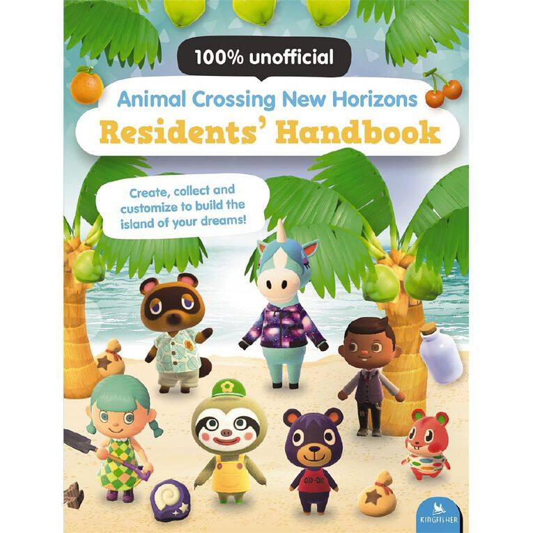 Animal Crossing New Horizons Residents Handbook by Claire Lister, , hi-res