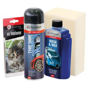 Autohaus Essentials Gift Pack 4 Pack