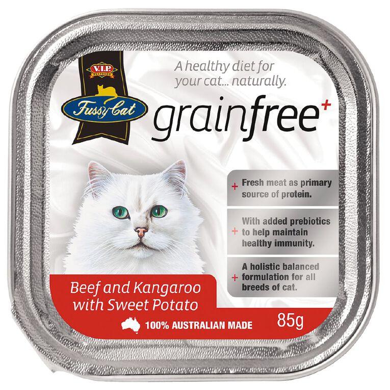 Fussy Cat Beef with Kangaroo & Sweet Potato 85g, , hi-res