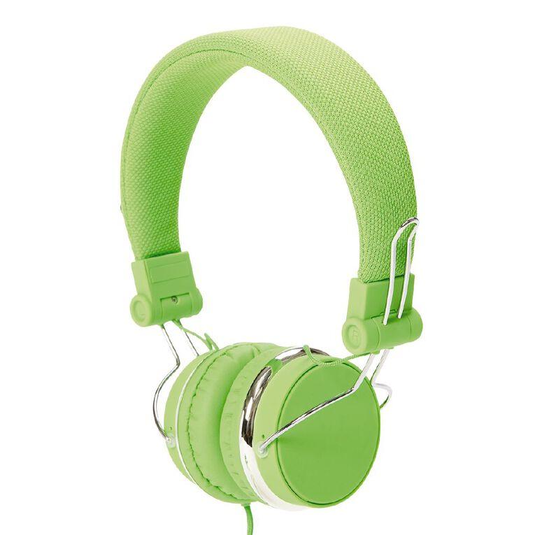 Tech.Inc Verve Headphones Neon Green, , hi-res