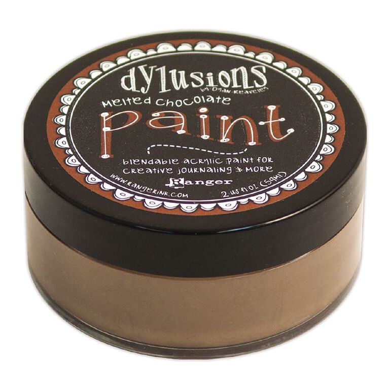 Ranger Dylusions Paint Melted Chocolate, , hi-res