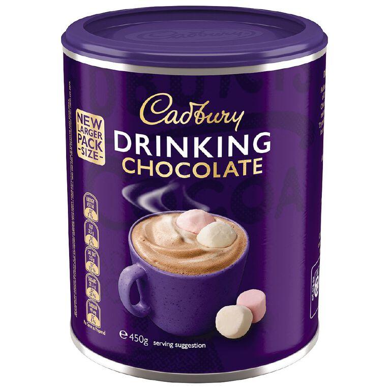 Cadbury Drinking Chocolate 450g, , hi-res