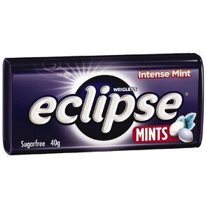 Eclipse Intense Mints Sugar Free Large Tin 40g 40g
