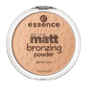 Essence Sun Club Matt Bronzing Powder 01