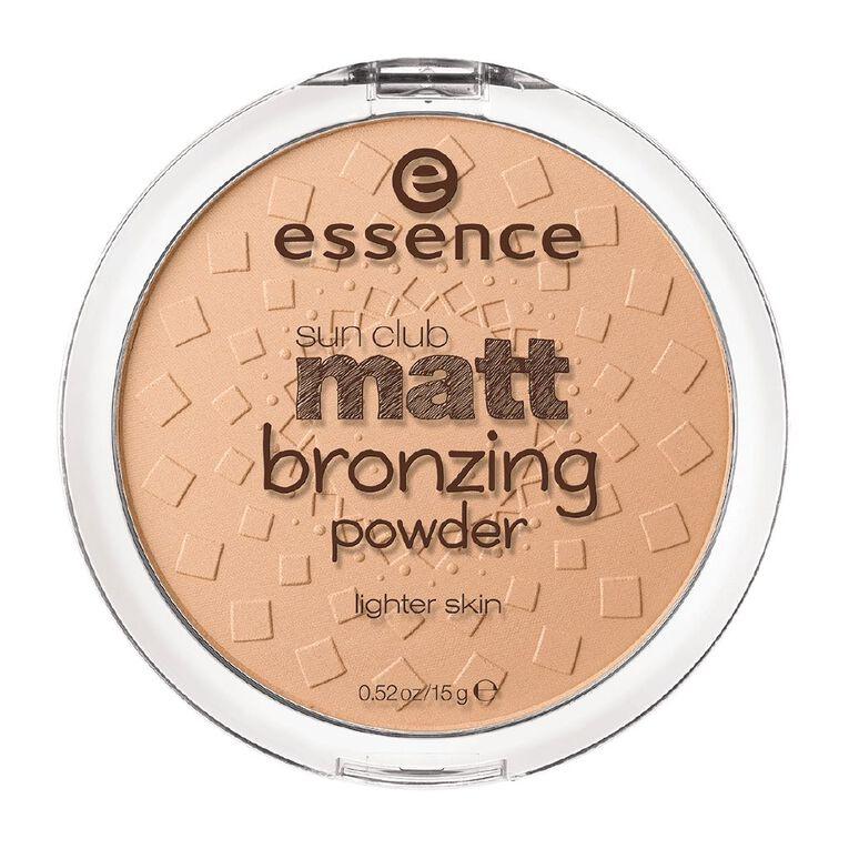 Essence Sun Club Matt Bronzing Powder 01, , hi-res