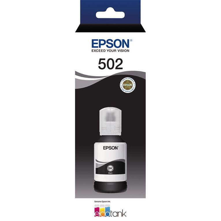 Epson T502 Ink Black (7500 Pages), , hi-res