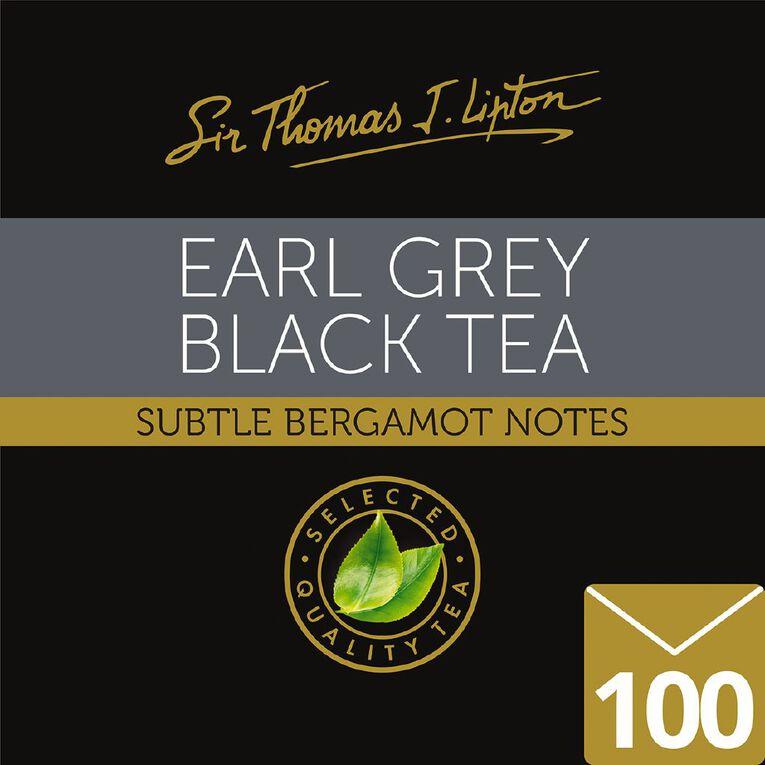 Lipton Sir Thomas Tea Bags Earl Grey 100pk, , hi-res