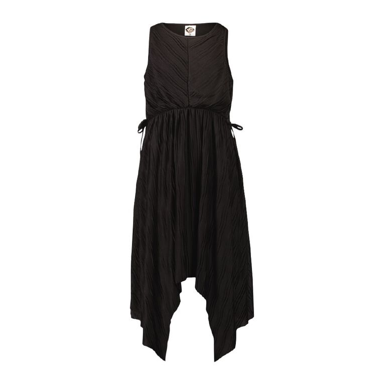 Young Original Crinkle Dress, Black, hi-res