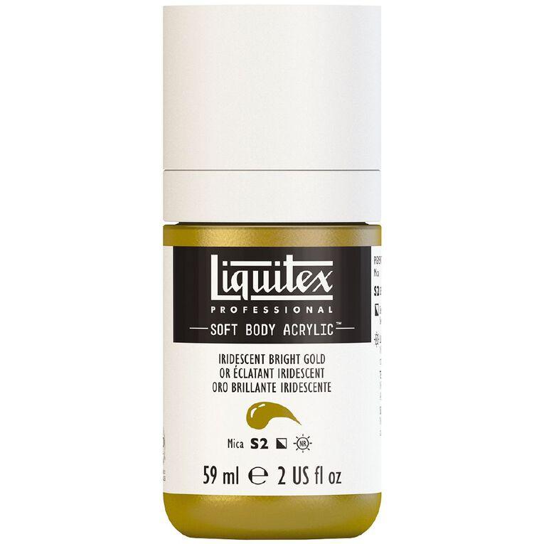 Liquitex Soft Body Acrylic 59ml Irid Bright Gold S2, , hi-res