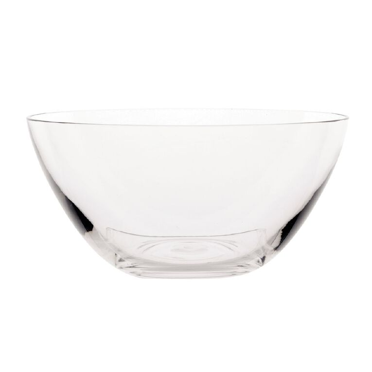 Living & Co Glass Serve Bowl 16cm x 7.6cm, , hi-res