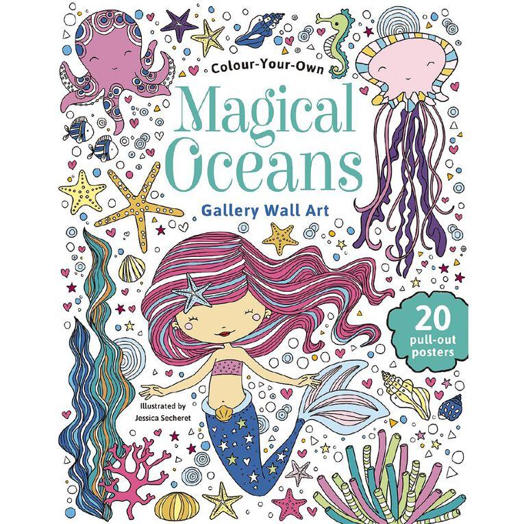 Colour Your Own: Magical Ocean Wall Art, , hi-res