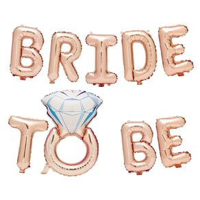 Party Inc Bride To Be Foil Balloon Banner