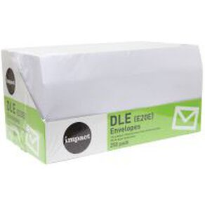 WS Envelope DLE E20E Seal 250 Pack
