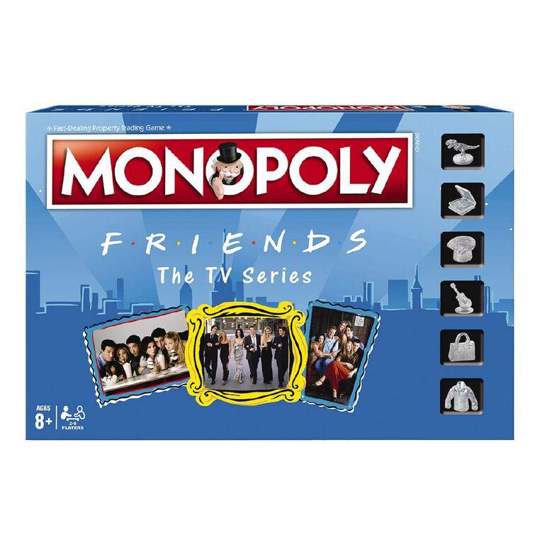 Friends Monopoly Game, , hi-res