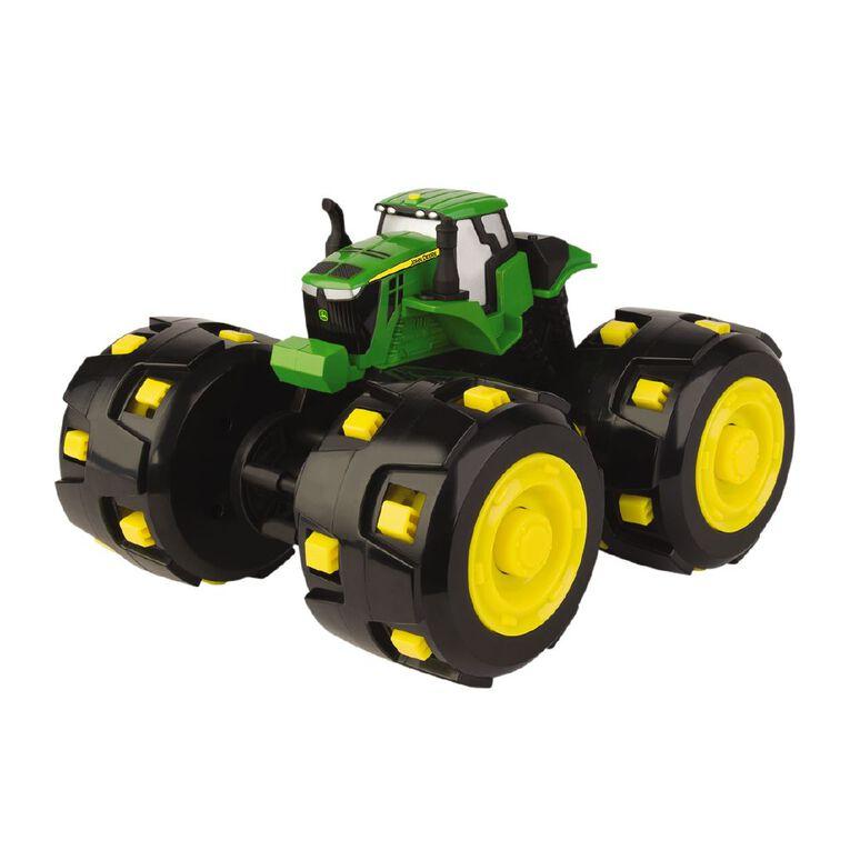 John Deere Monster Treads Tough Treads Tractor, , hi-res